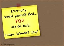 Send free quotes on women empowerment on this women's day 2015