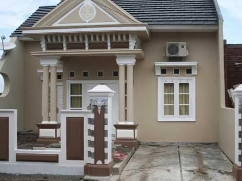 desain model rumah klasik modern