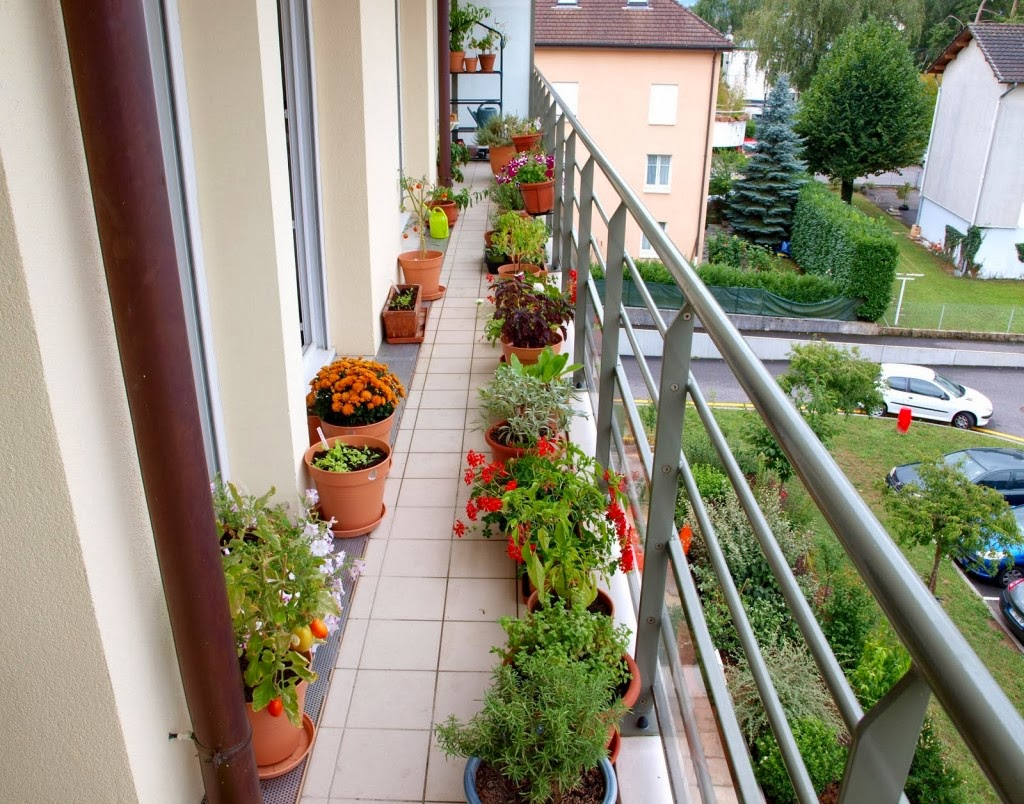 Comment faire un jardin de balcon comment fait - Comment construire un balcon ...