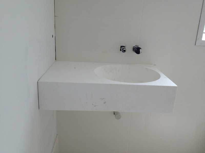 The Omvivo Neo 700 Vanity In The Downstairs Guest Bathroom Has Been  Installed And Itu0027s A Beauty!! I Love It!!