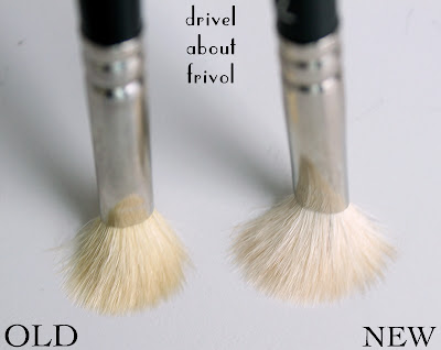 MAC 217 brush old vs new comparison
