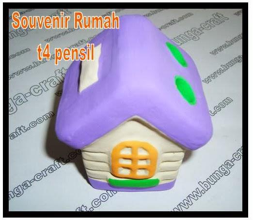 souvenir rumah t4 pencil