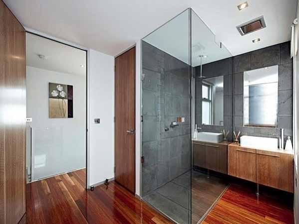 rumah minimalis, desain interior, ruang kamar mandi