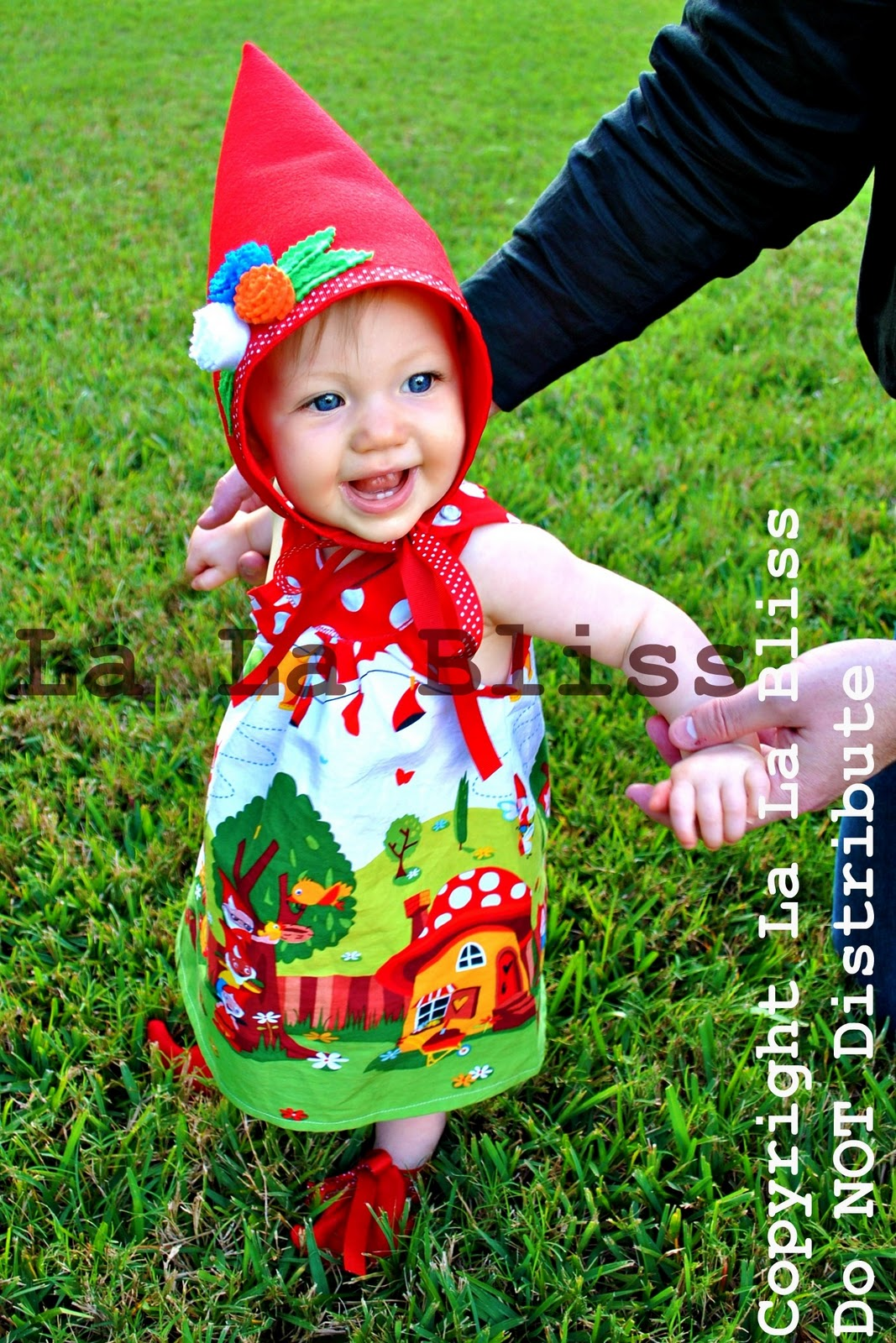 Lawn Gnome Bikini Garden Gnome Costume Baby Girl