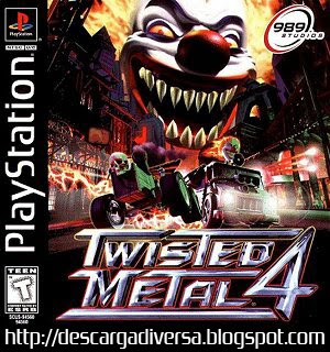Cover Twisted Metal 4