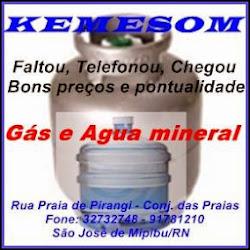 KEMERSON ÁGUA E GÁS