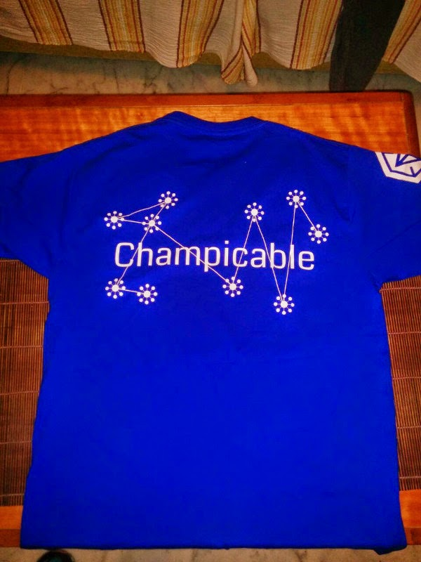 Camiseta Champicable Ingress