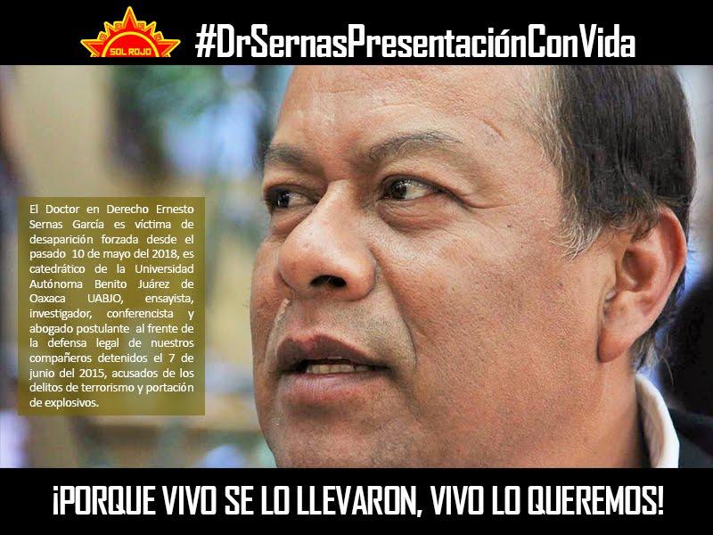 Campaña en defensa de la vida del Dr. Ernesto Sernas y Justicia para Luis Armando.