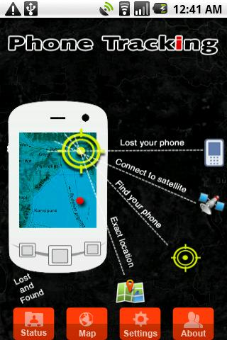Phone Tracking the theft recovery lost & found App is designed to work in the background and can be activated to turn on remotely in the event you misplace your phone.
