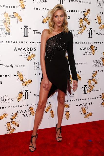 Supermodel @ Anja Rubik - 2015 Fragrance Foundation Awards at Alice Tully Hall