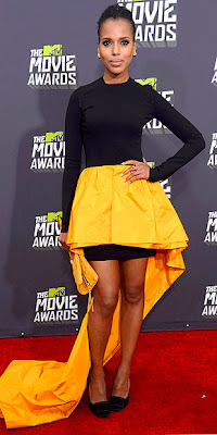 MTV movie awards, kerry washington, red carpet, fashion