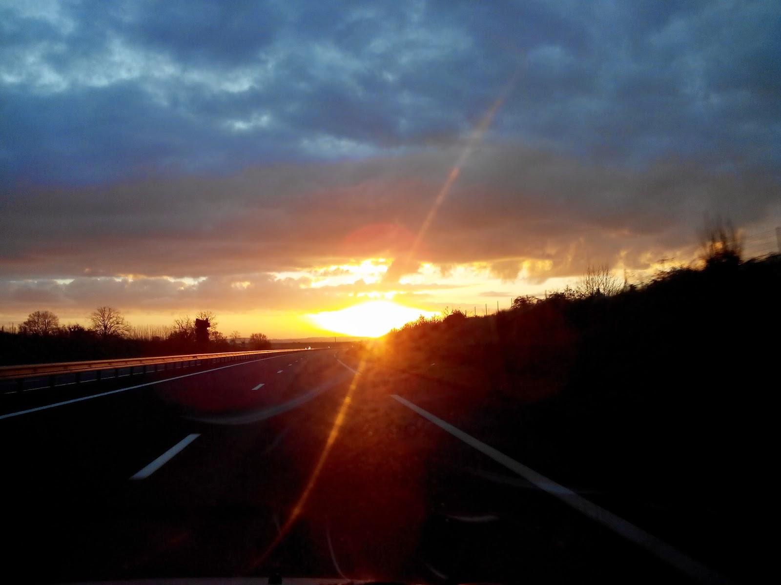 levé de soleil, bullelodie