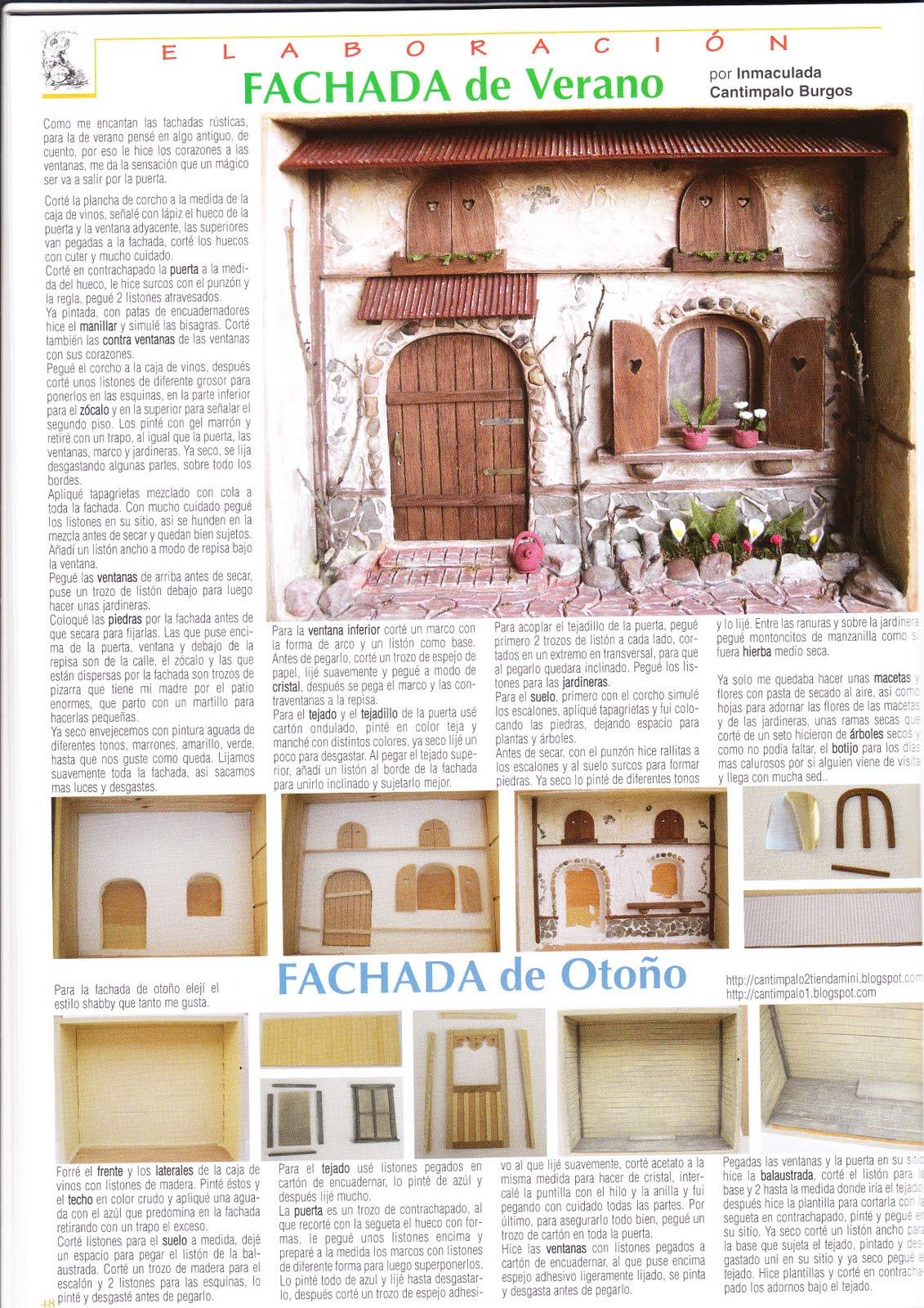 Mis Rincones En Miniatura Publicaciones En La Revista