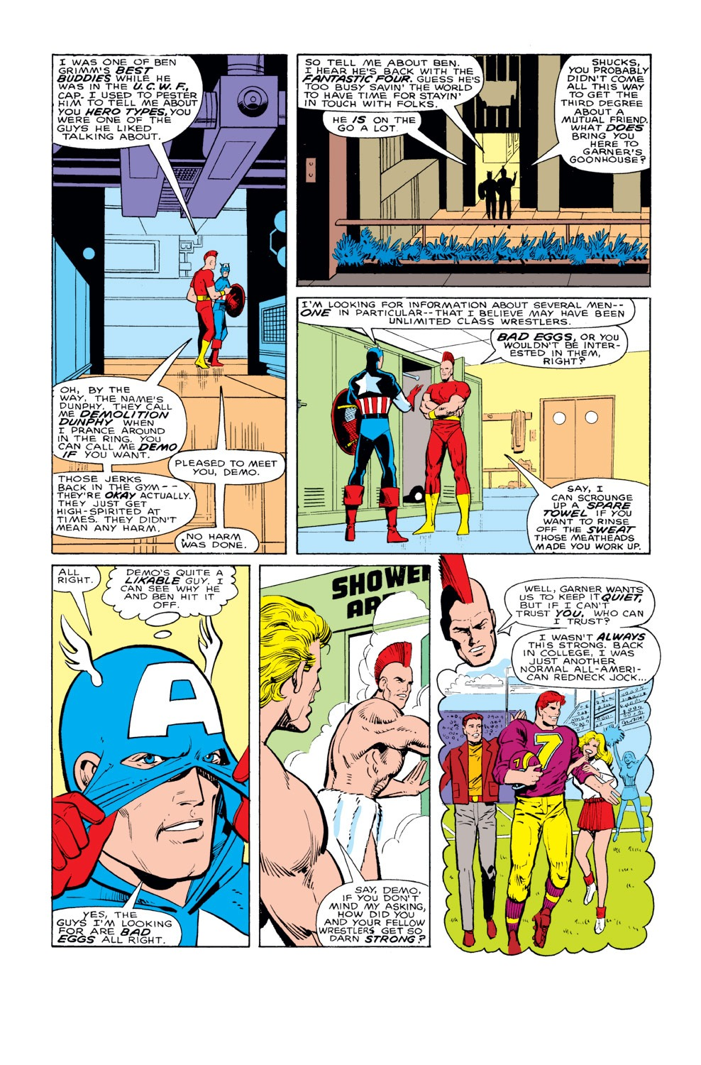 Captain America (1968) Issue #328 #257 - English 7