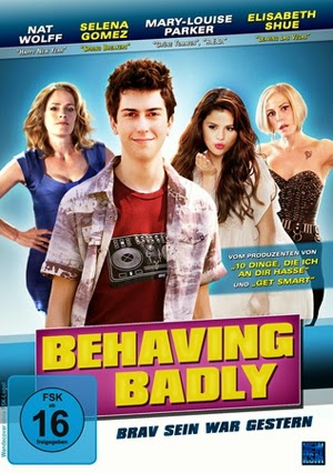 Behaving Badly 2014 poster