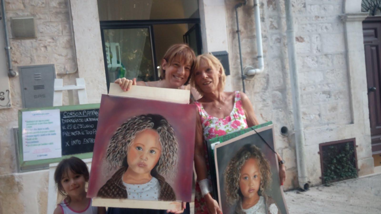 Con Tiziana Ceschin