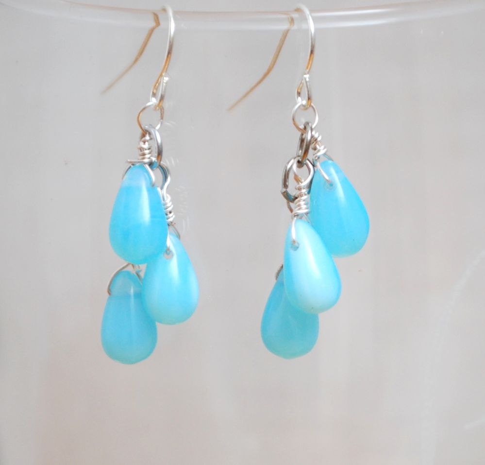 Dangle Earrings and Wire Wrapping Vlog - Amy Latta Creations