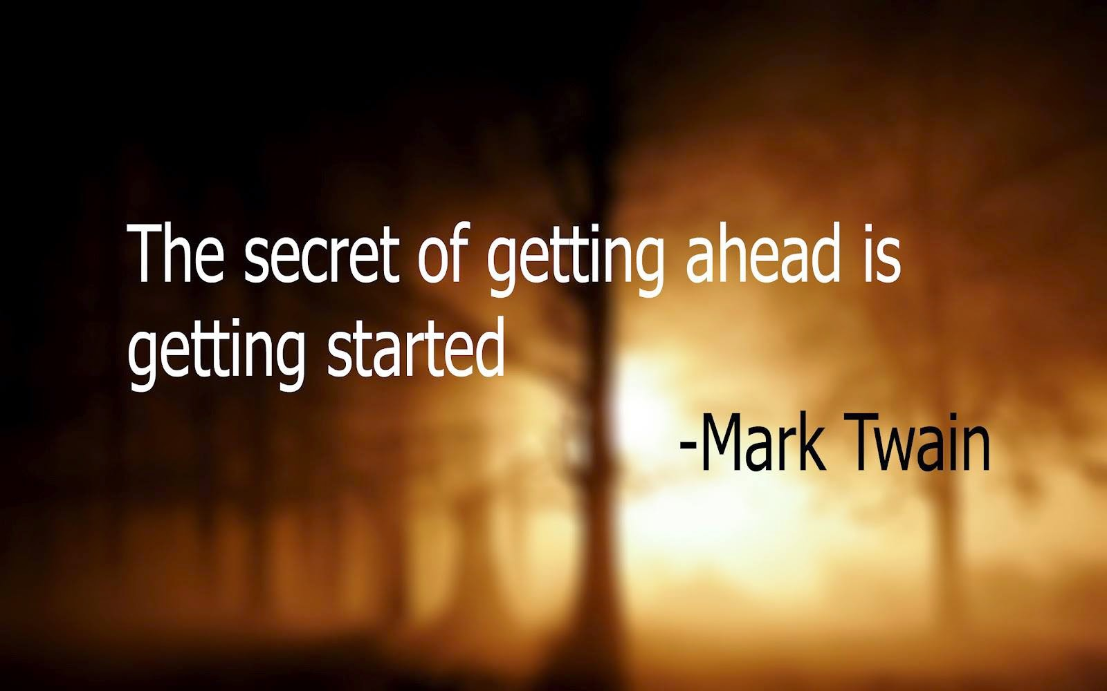 The Secret Quotes Best All In One Quotes The Secret Of Getting Ahead Is Getting