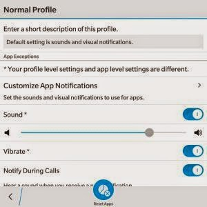 Setting Notifikasi Application 2