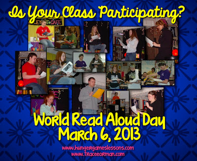 World Read Aloud Day: March 6th, 2013