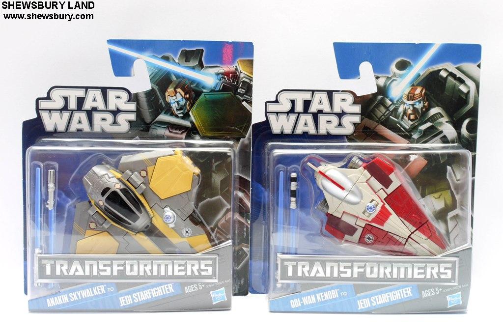 Transformers Star Wars Obi-wan Kenobi Jedi Starfighter Hasbro 2011
