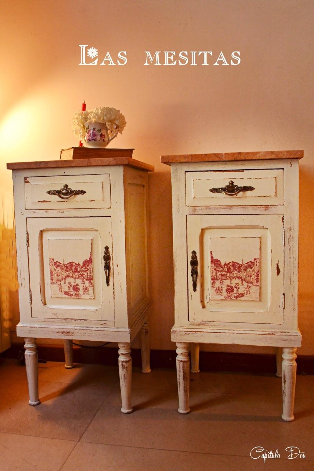 Muebles restaurados en blanco finest muebles vintage - Muebles restaurados online ...