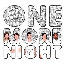 Portada del single One More Night