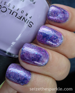 Purple Seriotype Nails