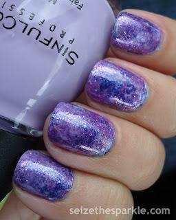 Purple Seriotype Nails
