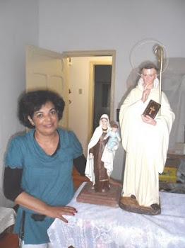 RESTAURAÇÃO da imagem de São Bernardo de Claraval