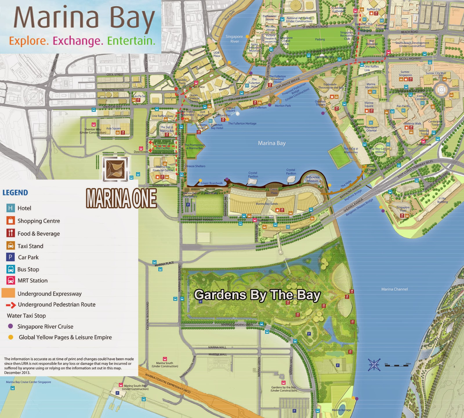marina bay singapore - Garden By The Bay Mrt Station