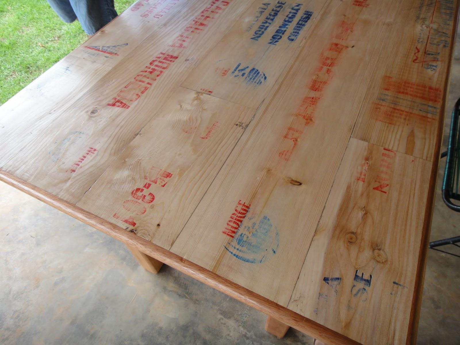 Caixas de bacalhau da Noruega sobre a mesa #70472C 1600x1200