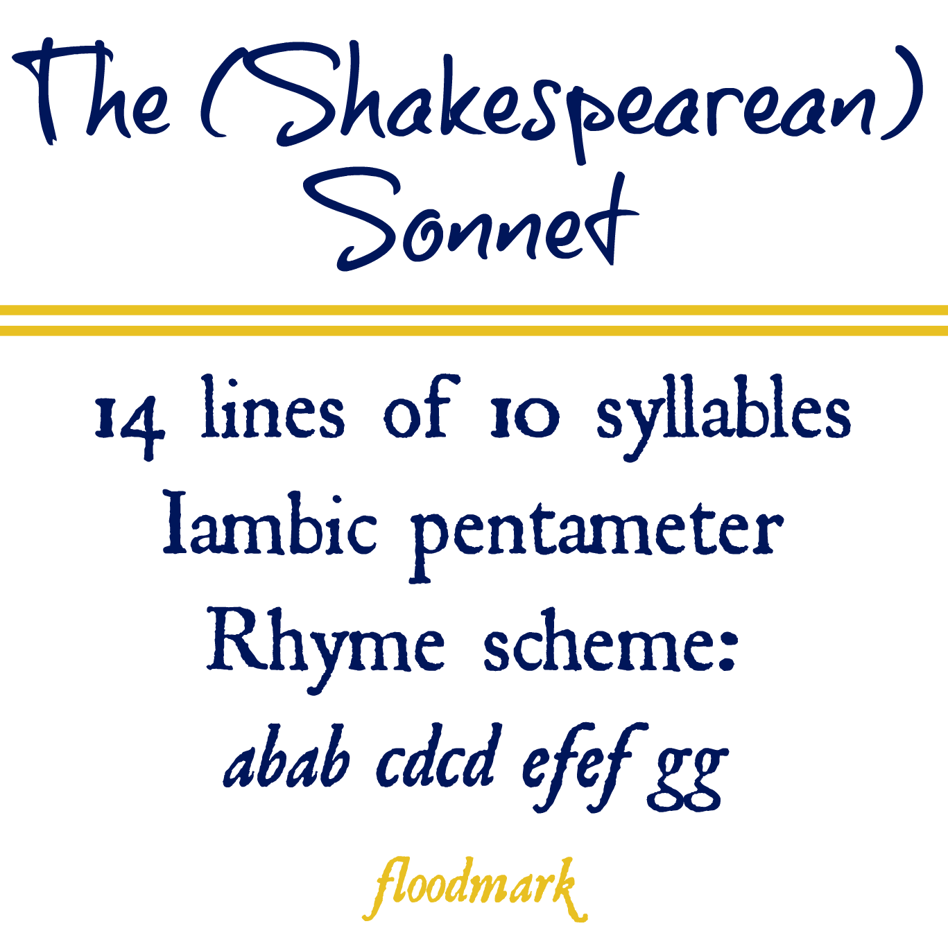 villanelle poem format