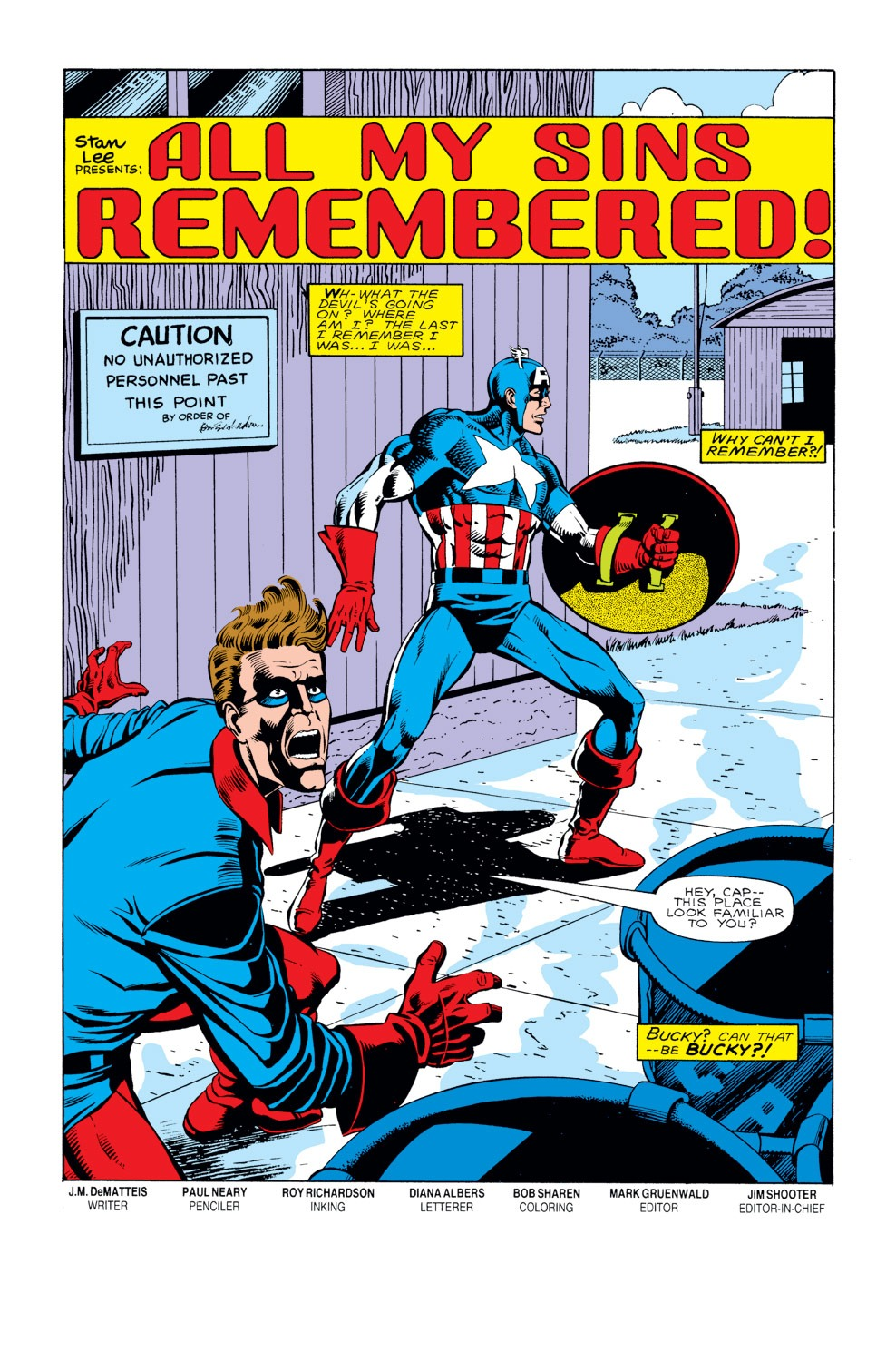 Captain America (1968) Issue #297 #225 - English 6