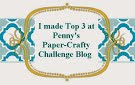 Top 3 Penny´s Paper-Crafty challenge nº 340