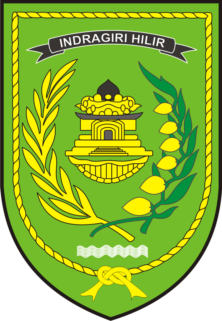 logo baru kabupaten indragiri hilir logo lambang indonesia