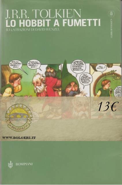 J r r tolkien lo hobbit a fumetti for Libri in offerta