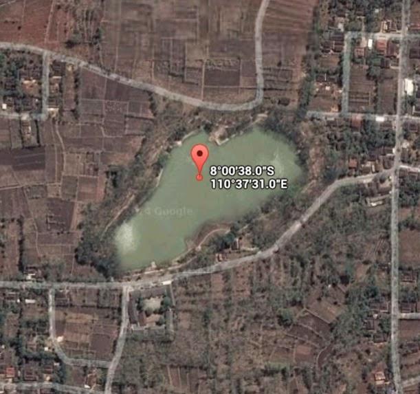 Koordinat Lokasi Telaga Jonge_siparjo.com