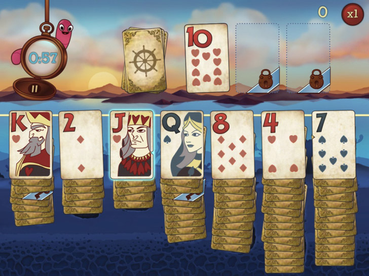 Solitaire Blitz Free App Game By PopCap