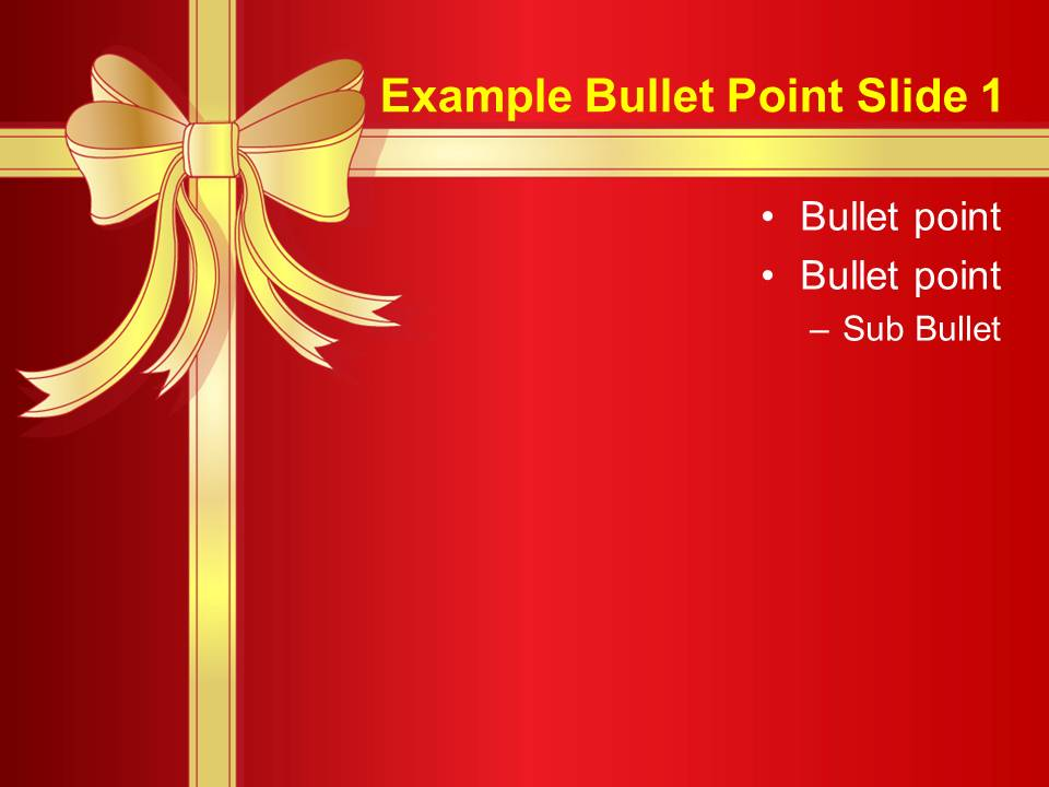 Free Download 2012 Christmas PowerPoint Templates - Everything about ...