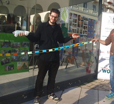 ΝΕΑ ΑΚΡΟΠΟΛΗ ΘΕΣΣΑΛΟΝΙΚΗΣ: Happening στην Παγκόσμια Ημέρα Εθελοντισμού
