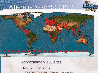 WikiLeaks publica mapamundi con puntos de espionaje telemático de EEUU