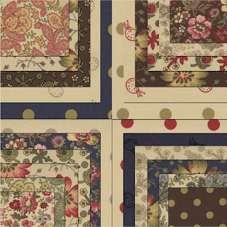 Moda PAINT BOX Prints Quilt Fabric by Edyta Sitar of Moda Fabrics