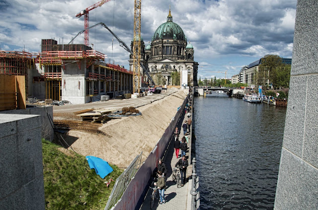 Baustelle Berliner Schloss, Stadtschloss, Schlossplatz, 10178 Berlin, 16.04.2014