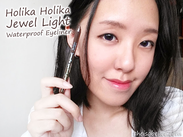 Holika Holika Jewel Light Waterproof Eyeliner review