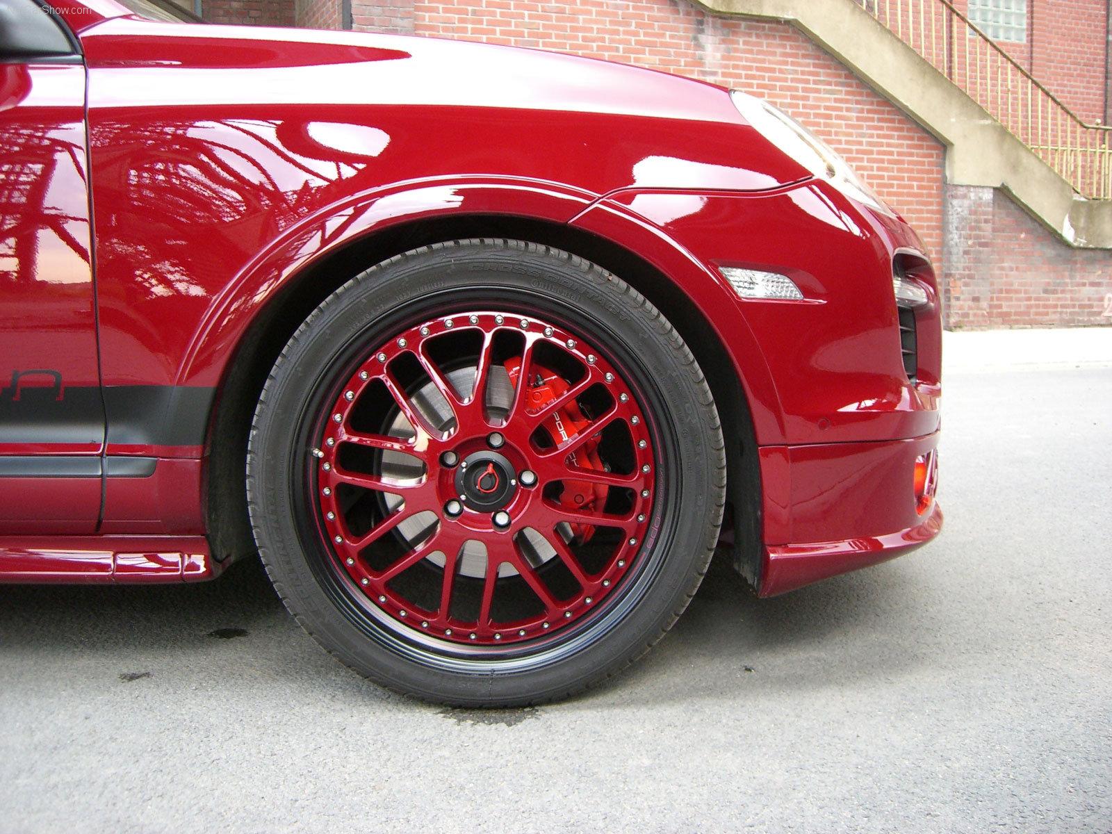 Hình ảnh siêu xe Edo Porsche Cayenne GTS 2009 & nội ngoại thất