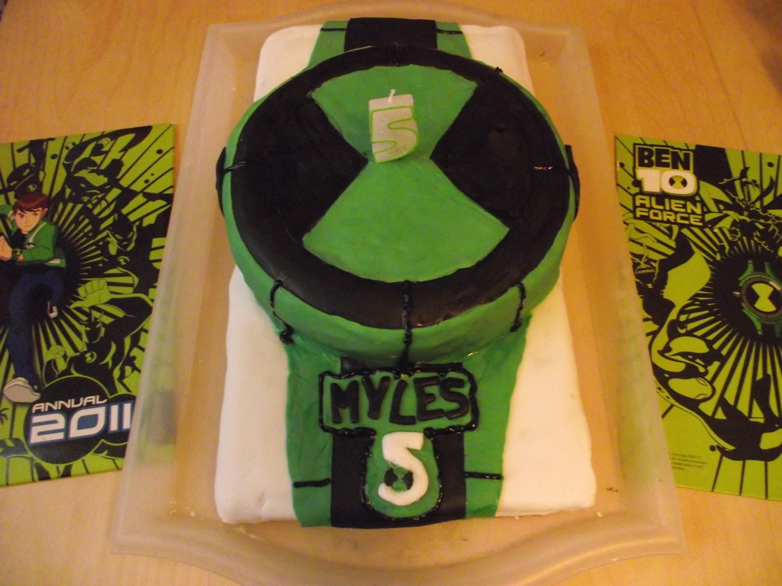 Little Ones Tales Ms Ben 10 Inspired Birthday Cake