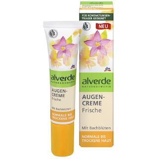 Preview: alverde Bachblüten-Serie - Augencreme Frische - www.annitschkasblog.de