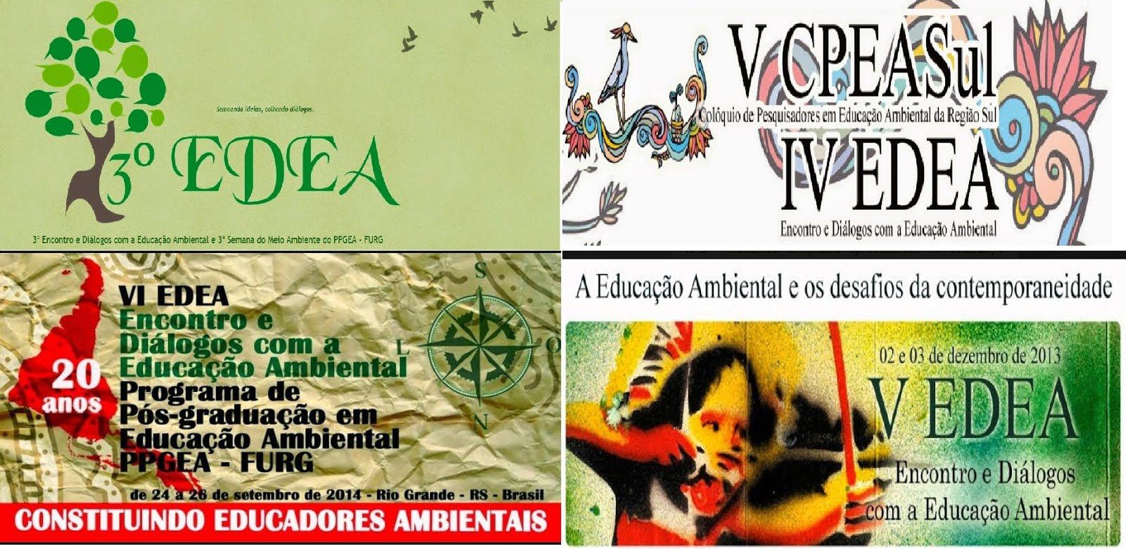 EDEA - Encontro e Diálogos com a Educação Ambiental (PPGEA/FURG)
