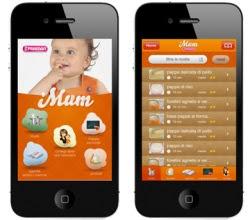 applicazioni per neonati e genitori